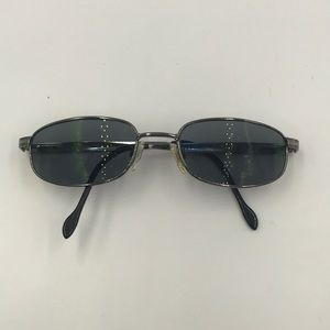 Other - Reptile Silver Metal Oval Sunglasses Frames